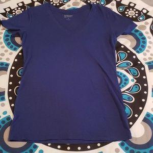 Arizona Blue V-neck Tshirt M Medium